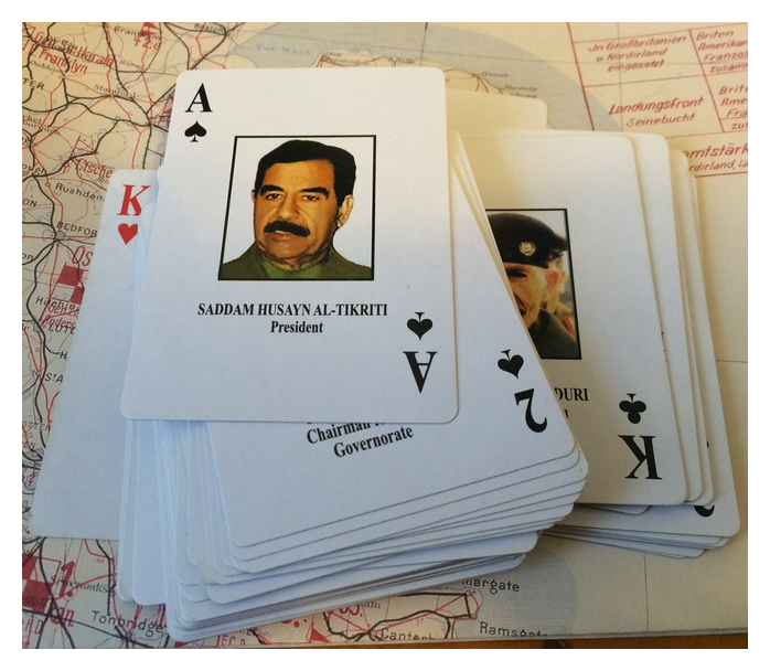 Us personality identification playing cards