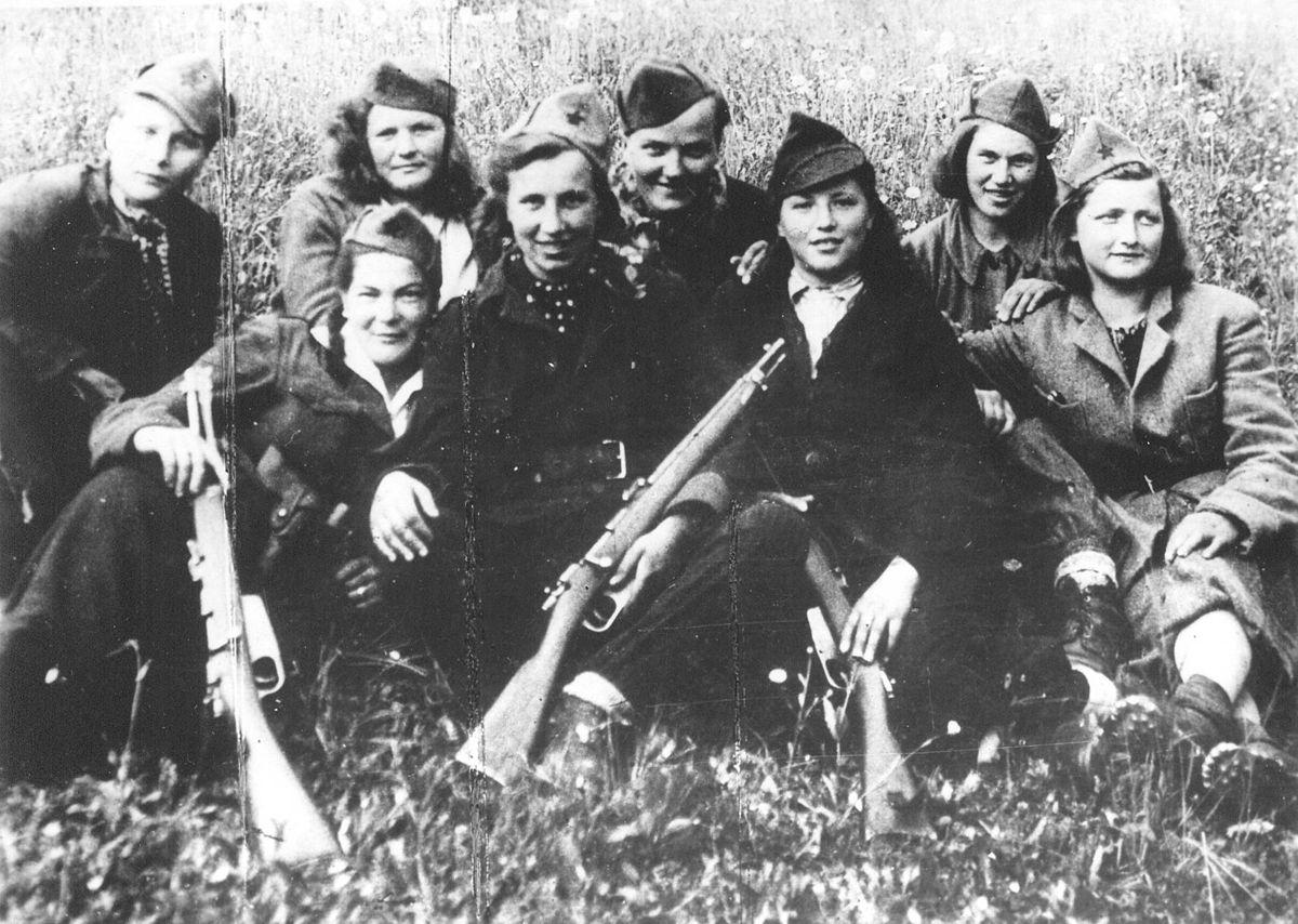 Borci_Cankarjeve_brigade_na_Čatežu